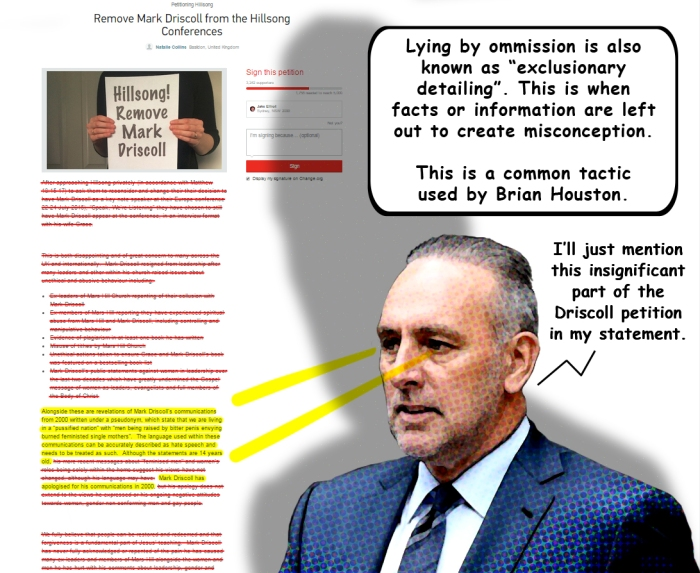 Brian Houston Lying By Ommission
