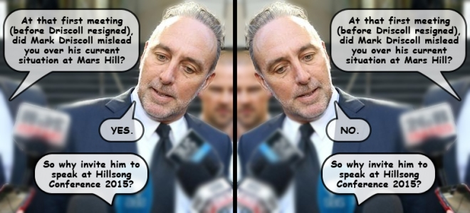 Mark Driscoll mislead Brian Houston