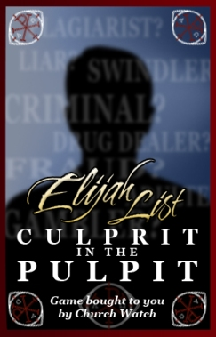 CulpritInThePulpit
