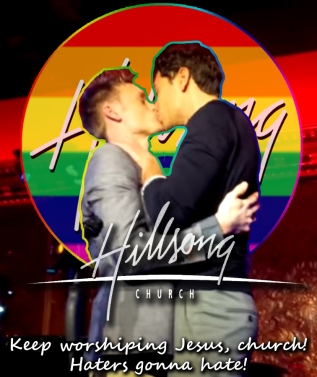 Hillsong gays haters church worship