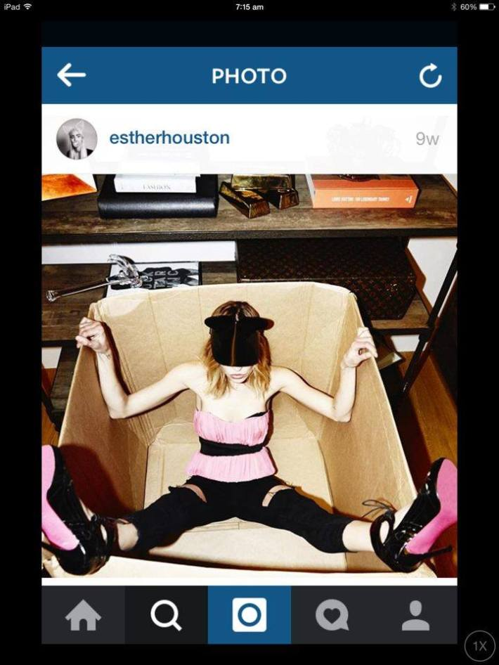 Esther in a box 1