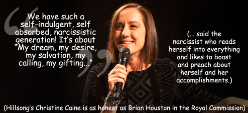 Hillsong narpocrite Christine Caine reviewed at Passion 2016