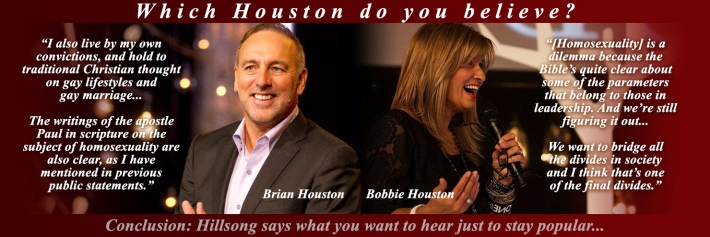 Brian and Bobbie Houston Hillsong two-faced