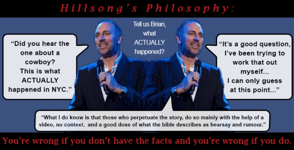 Brian Houston's actual story