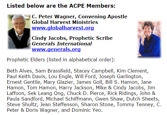 Who are the NARpostles of the Apostolic Council of Prophetic Elders