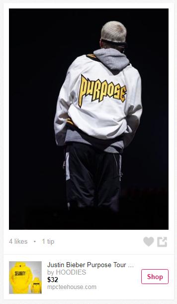 Justin Beiber Purpose Jacket