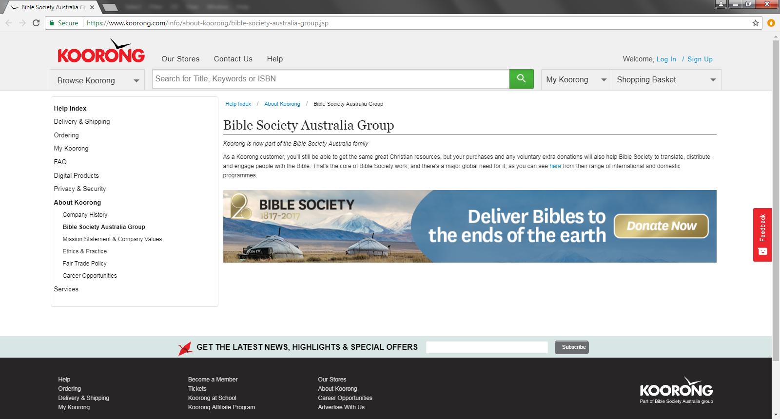 Dangers of Australian Bible Society (Part 2): Producing
