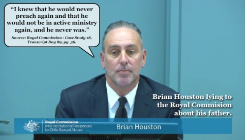 Brian Houston Lying to Royal Commission6