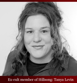 ex-cult member Hillsong Tanya Levin