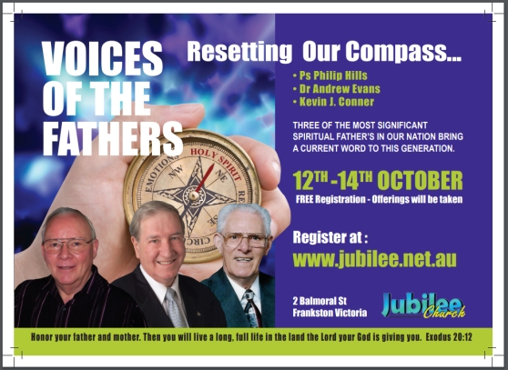 Poster Australian Apostles Andrew Evan Philip Hills Kevin Conner