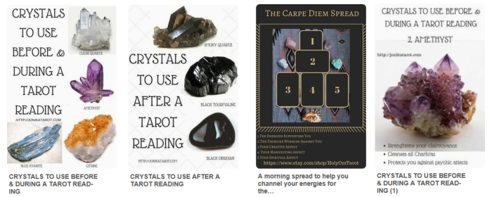 Destiny Cards - tarot crystal readings
